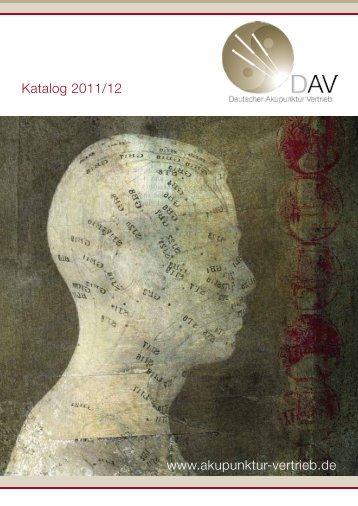 DAV Katalog 2011/12 Download - Deutscher Akupunktur Vertrieb