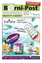 Barni-Post, KW 18, 29. April 2020