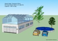 Waste Water Treatment Plant Municipal Waste Water of 2.000 PE ...