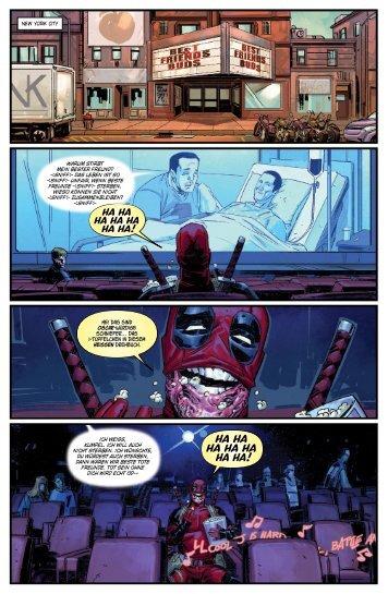 Deadpool Paperback 1: Alles auf Anfang (Leseprobe) DDPNEU001