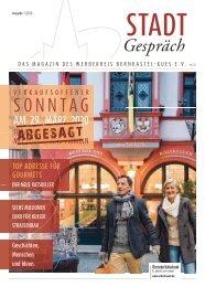 Stadtgespräch - DAS MAGAZIN DES WERBEKREIS BERNKASTEL - KUES E. V . | Nr. 27