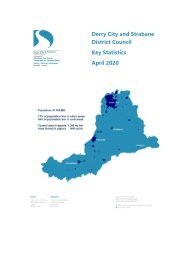 Derry City and Strabane District Council - Key stats info April 2020