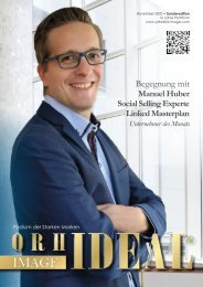 PROMOTION Orhideal IMAGE Magazin - November 2020 - looking forward