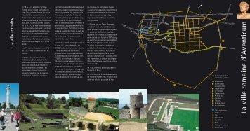 La ville romaine d'Aventicum