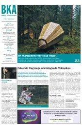 Berner Kulturagenda N°16