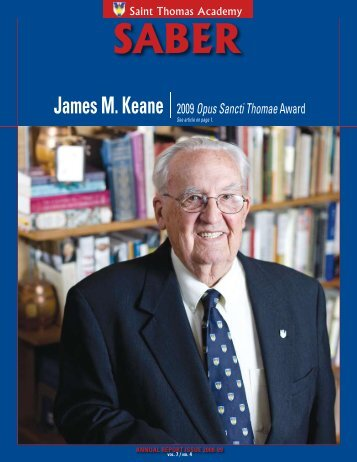 James M. Keane 2009Opus Sancti Thomae Award - Saint Thomas ...