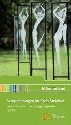 Regionale Speisekarte: So schmeckt das Münsterland! - Kreis Steinfurt