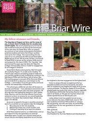 The Briar Wire | Vol. 5, Issue 7 | August 2019