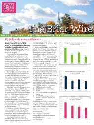 The Briar Wire | Vol. 5, Issue 9 | October 2019