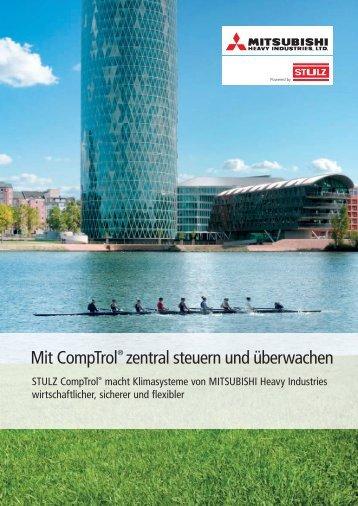 Mit CompTrol® zentral steuern und überwachen - Stulz GmbH