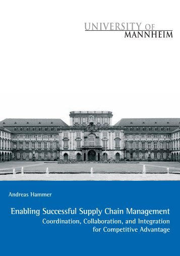Enabling Successful Supply Chain Management - MADOC