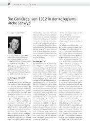 Die Goll-Orgel von 1912 in der Kollegiums - Freundeskreis ...