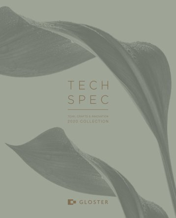 Gloster Tech Specs 2020