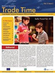 Trade Time – Vol 2; Issue 2 - TRTA Pakistan