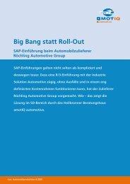 Big Bang statt Rollout - amotIQ automotive GmbH