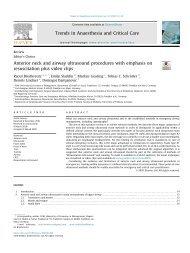 Atemwegsultraschall - eine praktische Übersicht