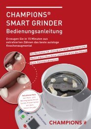 Bedienungsanleitung Smart Grinder 2020