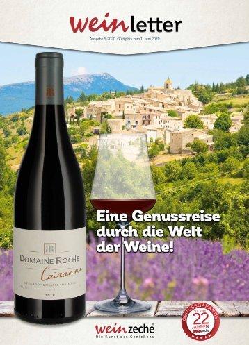 Weinzeche Weinletter 5_2020 – Die Kunst des Genießens