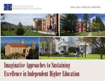 Imaginative Approaches to Sustaining Excellence in Independent ...
