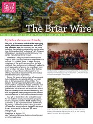 The Briar Wire | Vol. 5, Issue 10 | December 2019