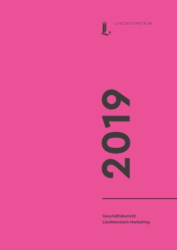 Geschäftsbericht Liechtenstein Marketing 2019