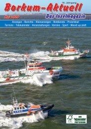 Mai 2020   Borkum-Aktuell - Das Inselmagazin