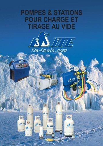 pompes & stations pour charge et tirage au vide - ITE-Tools.com