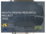 Health & Design Research Project 2020