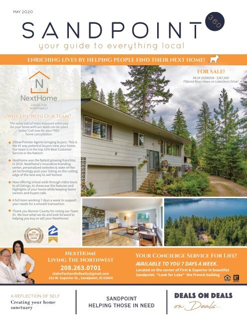 May 2020 Sandpoint 360