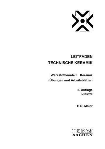 leitfaden technische keramik - Institut für keramische Komponenten ...