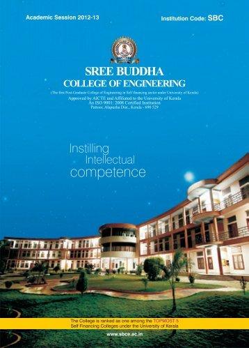 Brochure 2012-13 - Sree Buddha College of Engineering