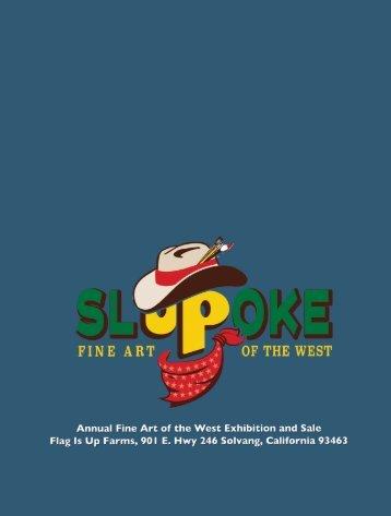 SLOPOKE ART SHOW BROCHURE