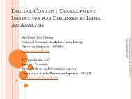 table:digital content development for children in india