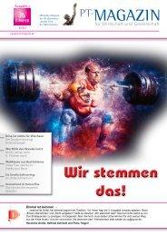 E-Paper PT-Magazin 03 2020 Wir stemmen das