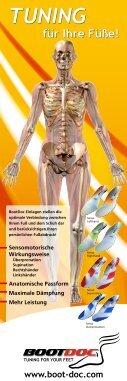 Anatomische Form Unterstützung des Quer- und ... - Boot Doc - Seite 6