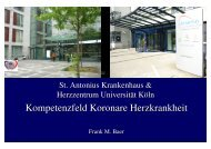 Kompetenzfeld AP 2011 - St. Antonius Krankenhaus gGmbH