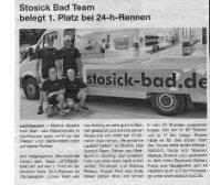 Stosick Bad Team belegt 1. Platz bei - auf der Homepage von