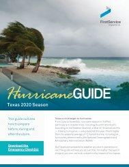 Hurricane Guide - Texas 2020 Season