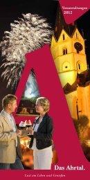 Veranstaltungen 2012 - Ahrtal-Tourismus Bad Neuenahr-Ahrweiler eV