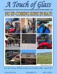 Central Valley Corvettes of Fresno - May 2020
