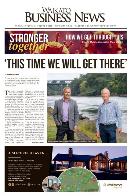Waikato Business News April/May 2020