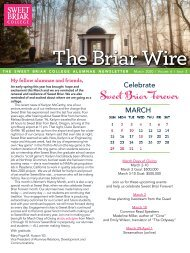 The Briar Wire - Vol. 6, Issue 3 - March 2020