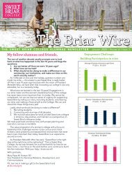 The Briar Wire | Vol. 6, Issue 1 | January 2020