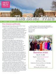 The Briar Wire | Vol. 6, Issue 2 | February 2020