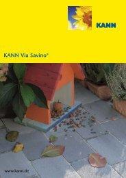 KANN Via Savino® Italienischer Charme in Ihrem Garten.