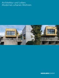 Architektur und Leben. Modernes urbanes Wohnen.