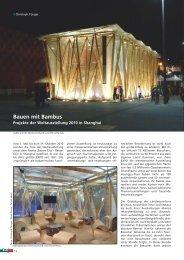 Bauen mit Bambus - CONBAM