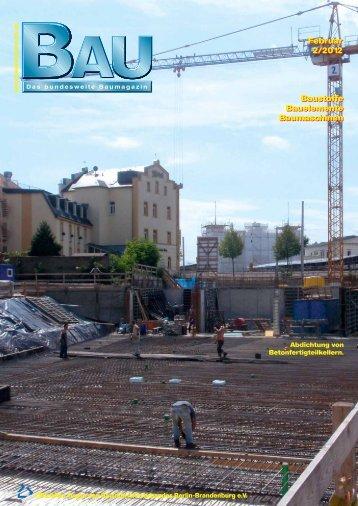 Februar 2/2012 Februar 2/2012 Baustoffe Bauelemente ...