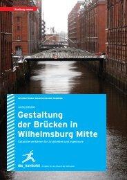 Gestaltung der Brücken in Wilhelmsburg Mitte - luchterhandt