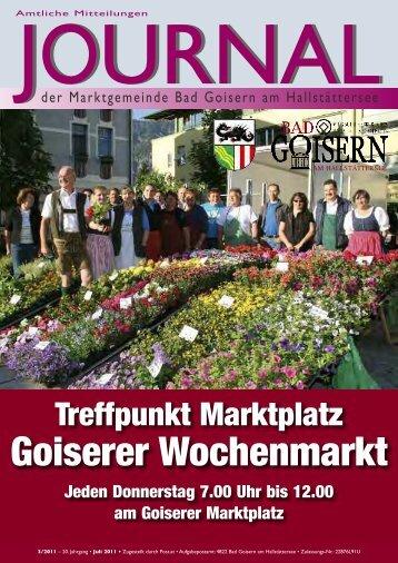 Goiserer Wochenmarkt - Bad Goisern - Land Oberösterreich
